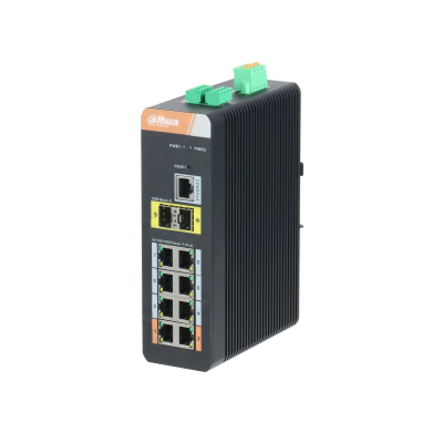 Switch Dahua PFS4210-8GT-DP 8 Port 10/100/1000 Base-T(cấp nguồn PoE)