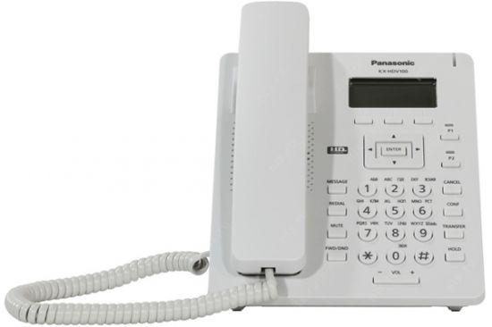 Điện thoại bàn Panasonic KX-HDV100 có màn hình LCD, 2 phím lập trình, 1 cổng Ethernet