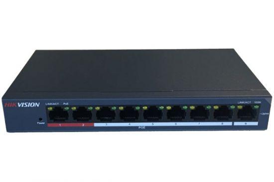 Switch PoE HIKVISION DS-3E0109P-E/M 8 port 10/100Mbps cấp nguồn PoE 58W lên đến 250m