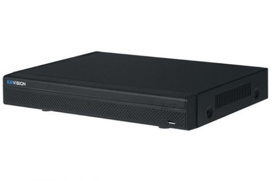 Đầu ghi hình KBVISION KX-8216H1 16 kênh HD 4MP + 8 kênh IP, 2 Sata, Audio, truyền tải âm thanh báo động