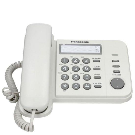 Điện thoại bàn Panasonic KX-TS520 3 số gọi nhanh, đèn báo cuộc gọi đến