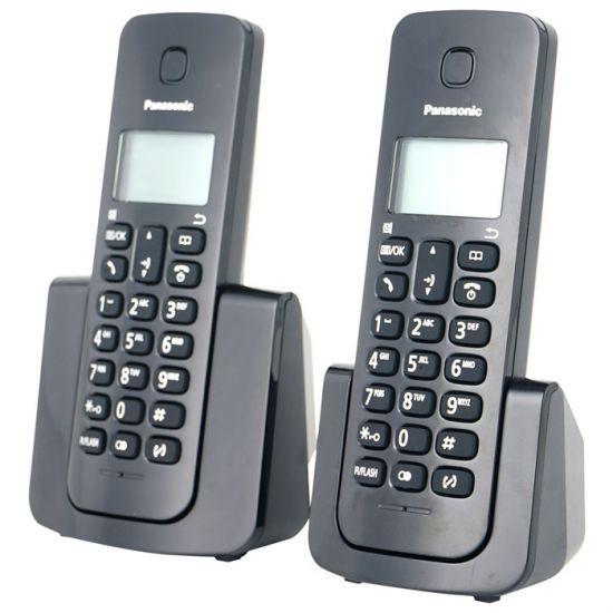 Điện thoại không dây Panasonic KX-TGB112 bộ 2 tay, Led hiển thị số gọi đến, 2 số gọi nhanh, chức năng chuyển cuộc gọi, khóa máy