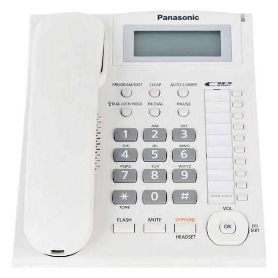 Điện thoại bàn Panasonic KX-TS880 màn hình Led hiển thị số gọi đến, tự động gọi lại, jack cắm tai nghe, loa 2 chiều