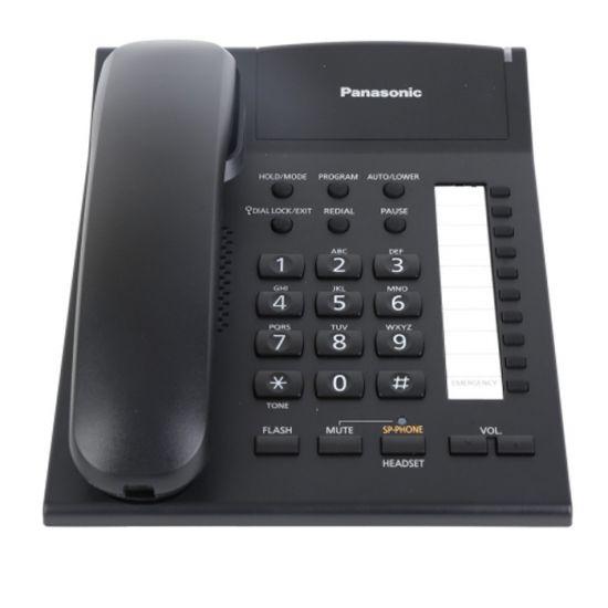 Điện thoại bàn Panasonic KX-TS840 màn hình Led hiển thị số gọi đến, tự động gọi lại, jack cắm tai nghe, loa 2 chiều