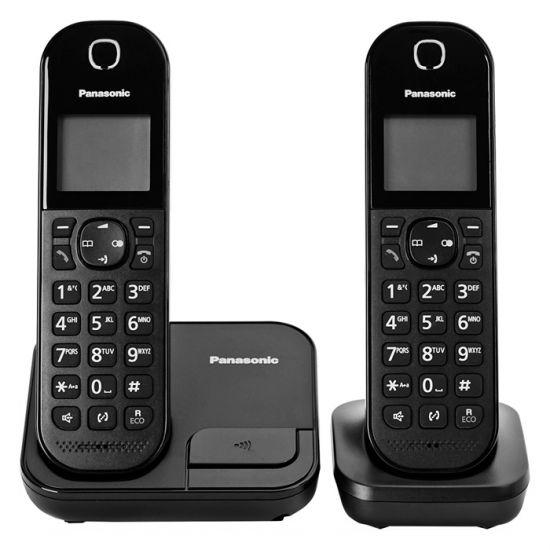 Điện thoại không dây Panasonic KX-TGC412 bộ 2 tay con, Led hiển thị số gọi đến, 50 danh bạn, pin 200 giờ