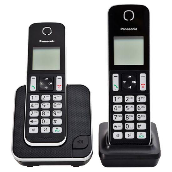 Điện thoại không dây Panasonic KX-TGD312 bộ 2 tay con, Led hiển thị số gọi đến, 120 danh bạ, Loa ngoài 2 chiều, chặn cuộc gọi