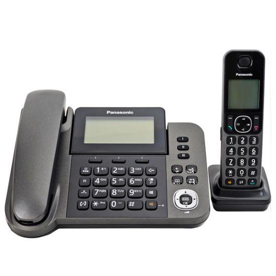 Điện thoại Panasonic KX-TGF310 Led hiển thị số gọi đến, lưu 100 danh bạ, 9 phím gọi nhanh, Loa ngoài 2 chiều, chặn cuộc gọi