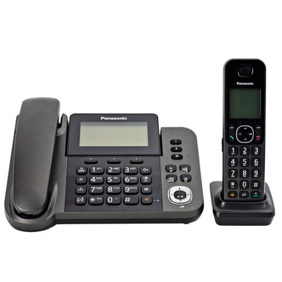 Điện thoại Panasonic KX-TGF320 Led hiển thị số gọi đến, lưu 100 danh bạ, 9 phím gọi nhanh, Loa ngoài 2 chiều, chặn cuộc gọi, trả lời tự động và ghi âm lời nhắn