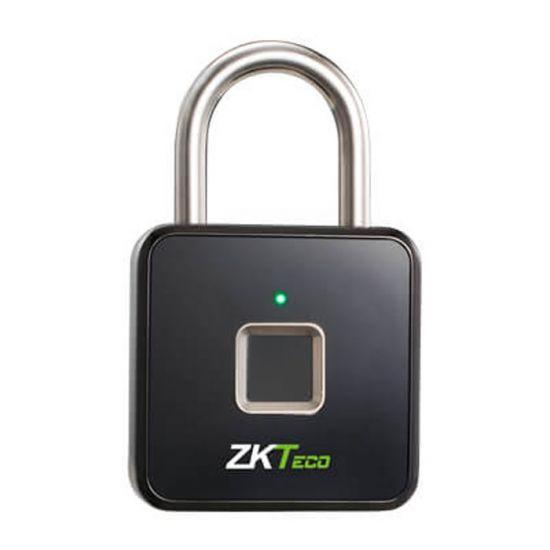Ổ khóa vân tay thông minh ZKTeco PADLOCK nhỏ gọn dễ cài đặt, chất liệu thép không gỉ,