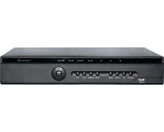 Đầu ghi Vantech VP-868CVI HYBRID 8 kênh HD 1080P, 2 sata